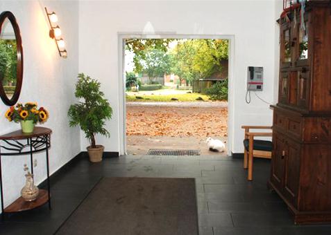 Wohnheim Kastanienhof Eingang